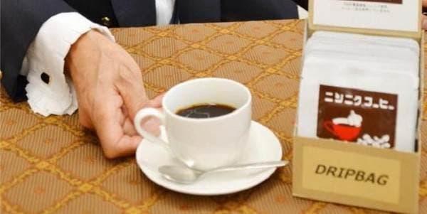 Café feito de alho