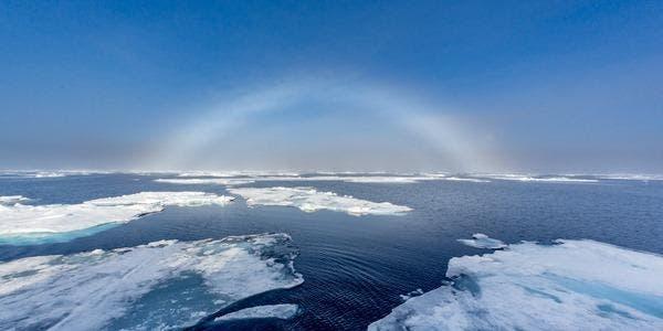 arco íris branco