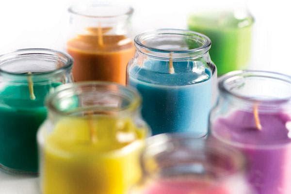 velas cores