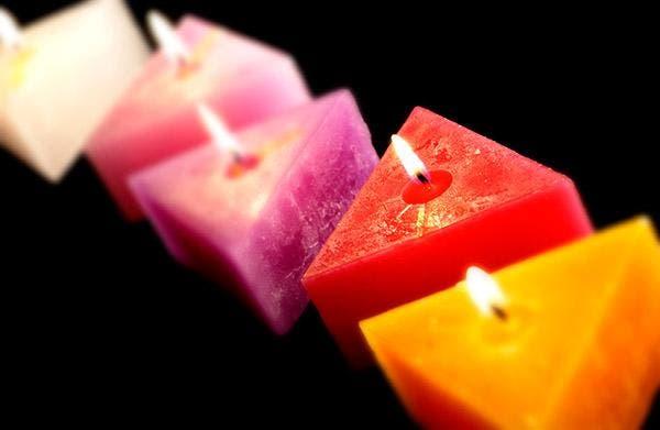 velas formatos