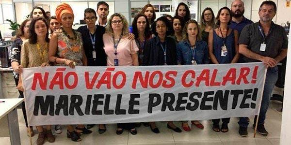 Jornalistas-protesto-marielle