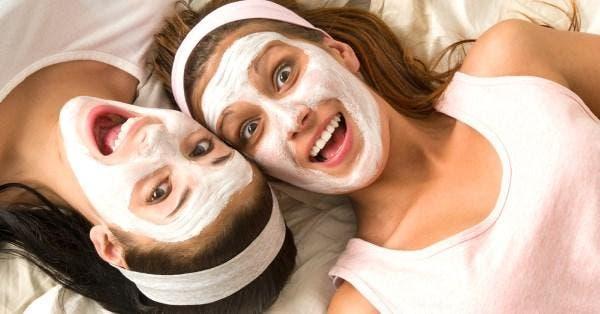 máscara facial de arroz
