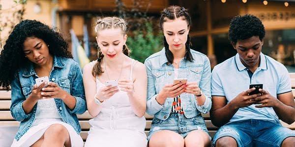 smartphones e jovens