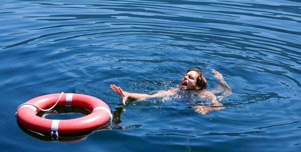 medo de água