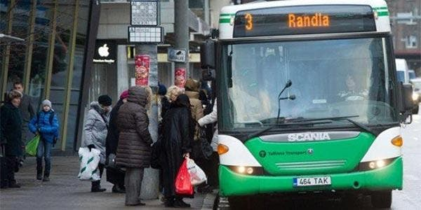 Transporte gratuito Estônia