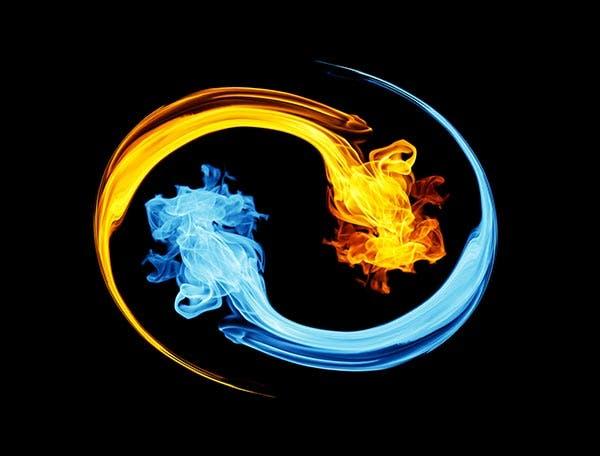 yin yang fogo