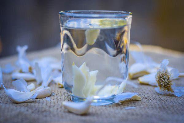 Água de alho