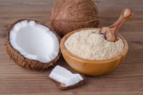 receitas com farinha de coco