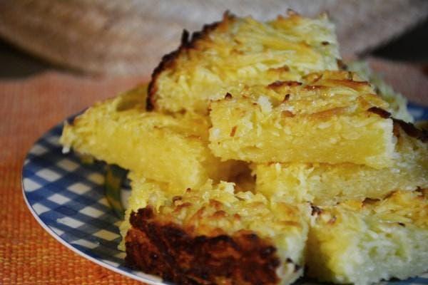 bolo de farinha de mandioca