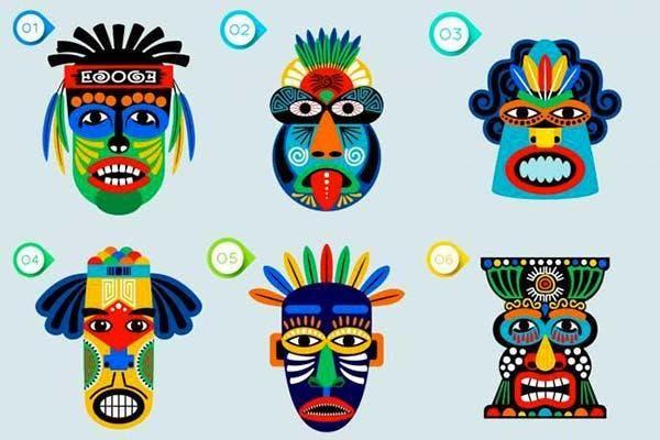 teste máscara