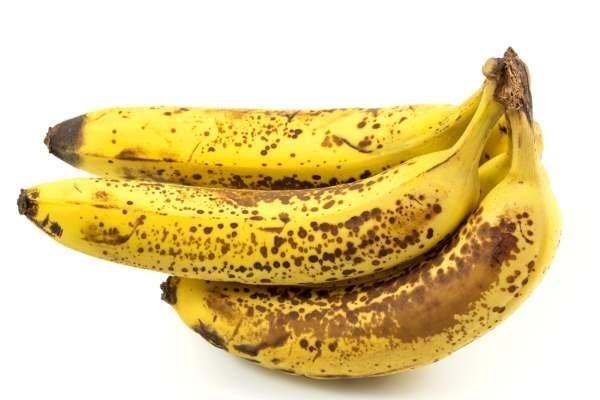 bananas manchadas