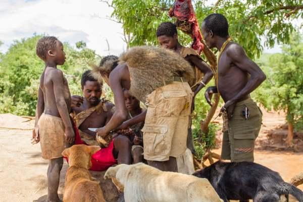 hadza tanzania