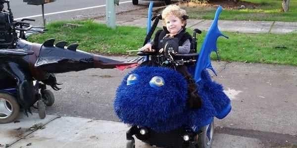 halloween cadeiras de rodas 2