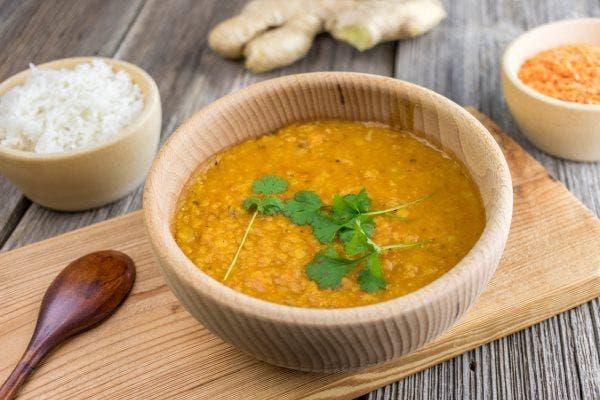 sopa de lentilhas