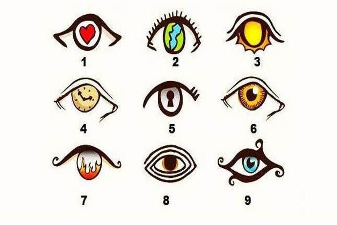 Teste olhos
