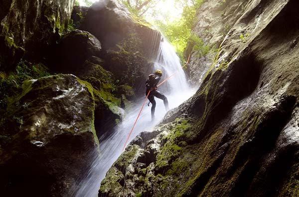 Rapel-cachoeira