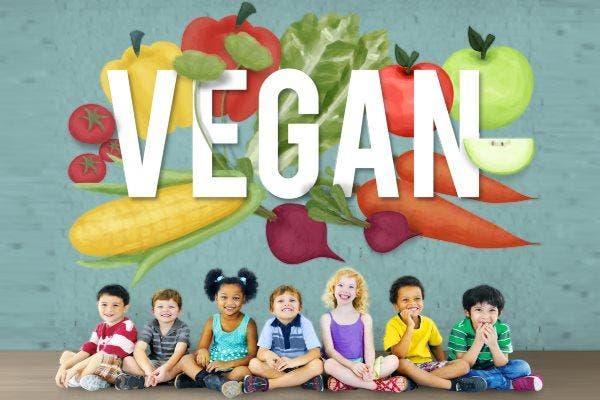 criança vegana