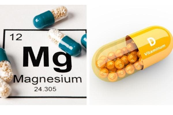 Magnésio e vitamina D