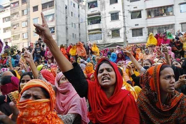 Protestos em Bangladesh
