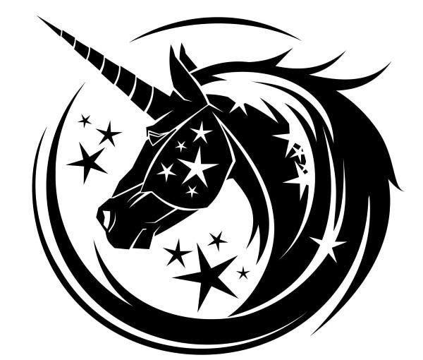 unicornio tatuagem