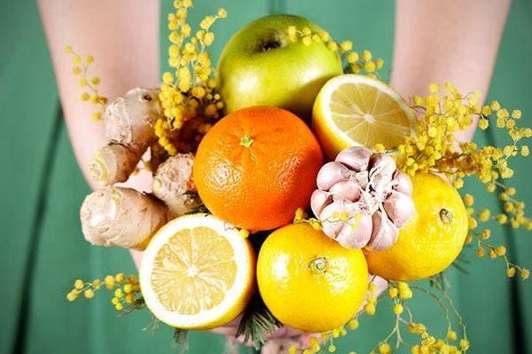 Alho e vitamina C