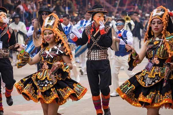 Carnaval Oruro Bolivia