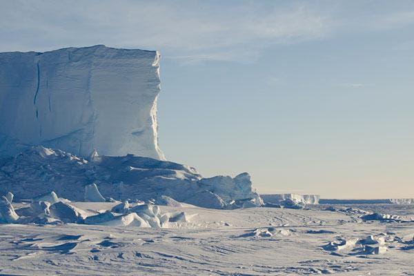 Plataforma de Gelo Brunt na Antártida