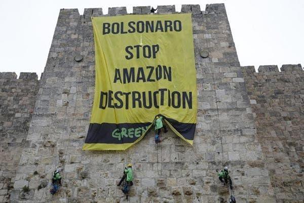 Bolsonaro Greenpeace