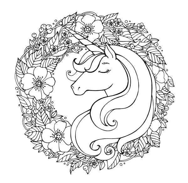 unicornio imagens colorir 3