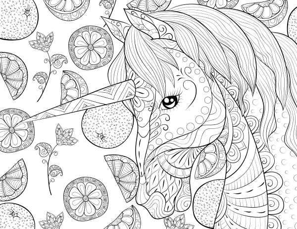 unicornio imagens colorir