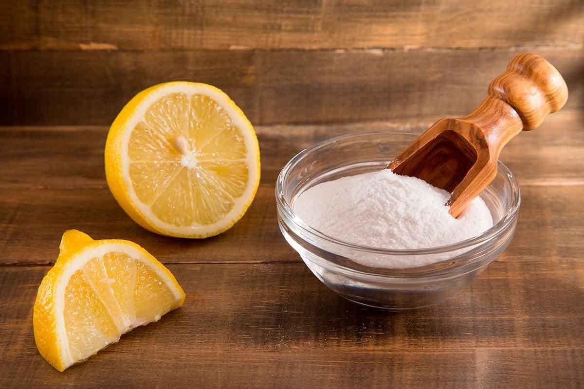 Bicarbonato com limão