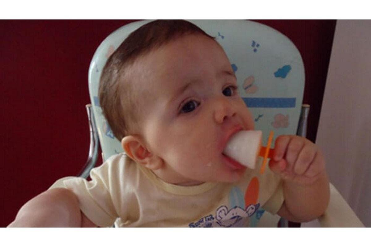 Picolé de leite materno: