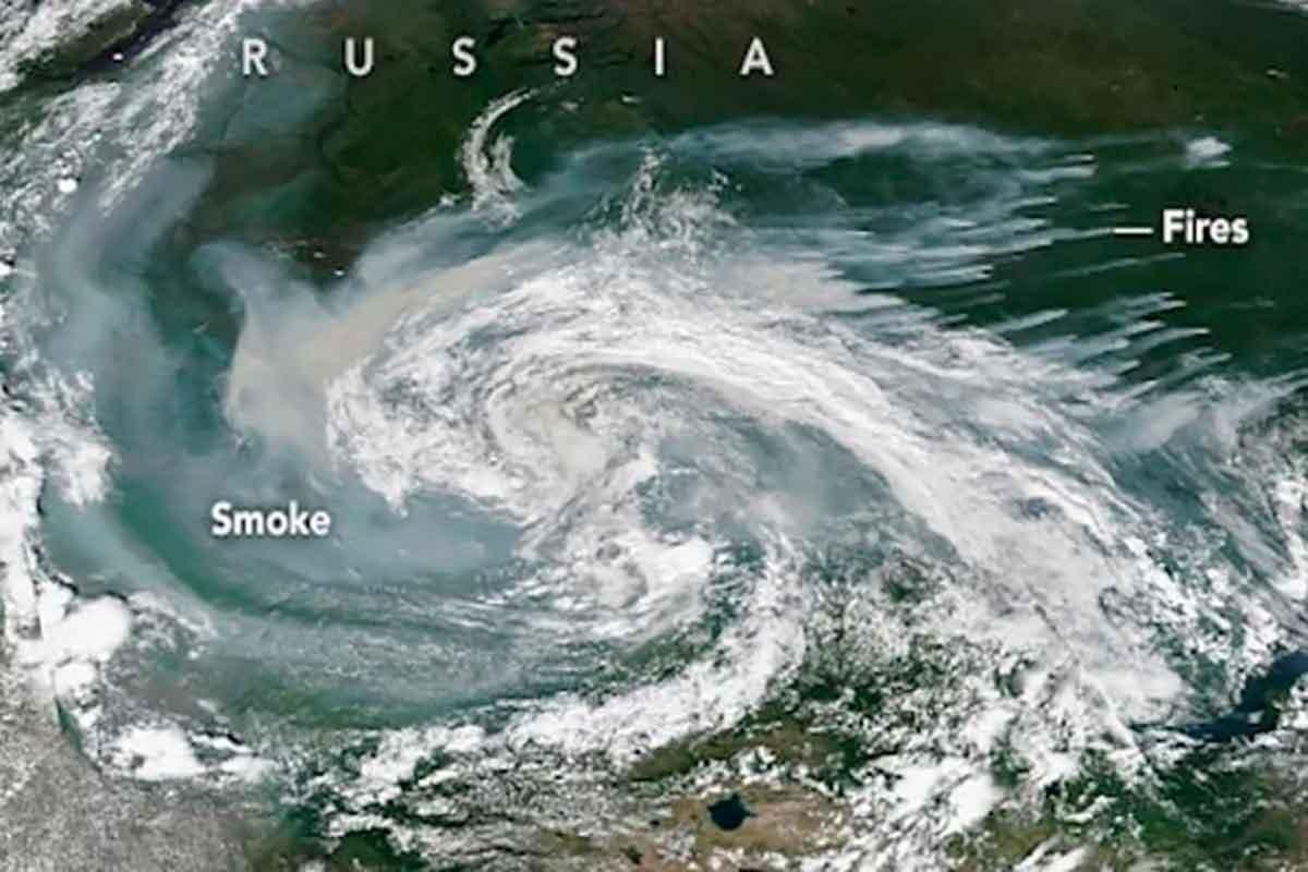 Incêndios Ártico