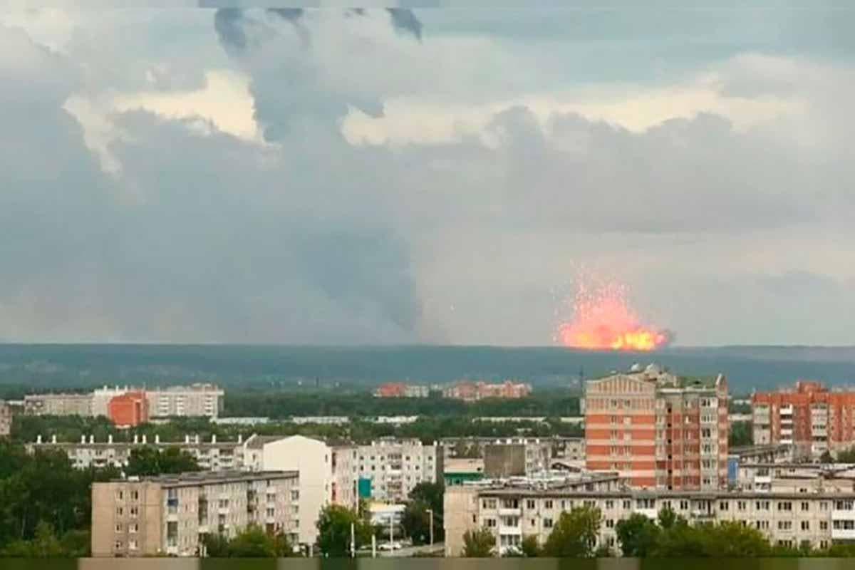 explosão nuclear russia