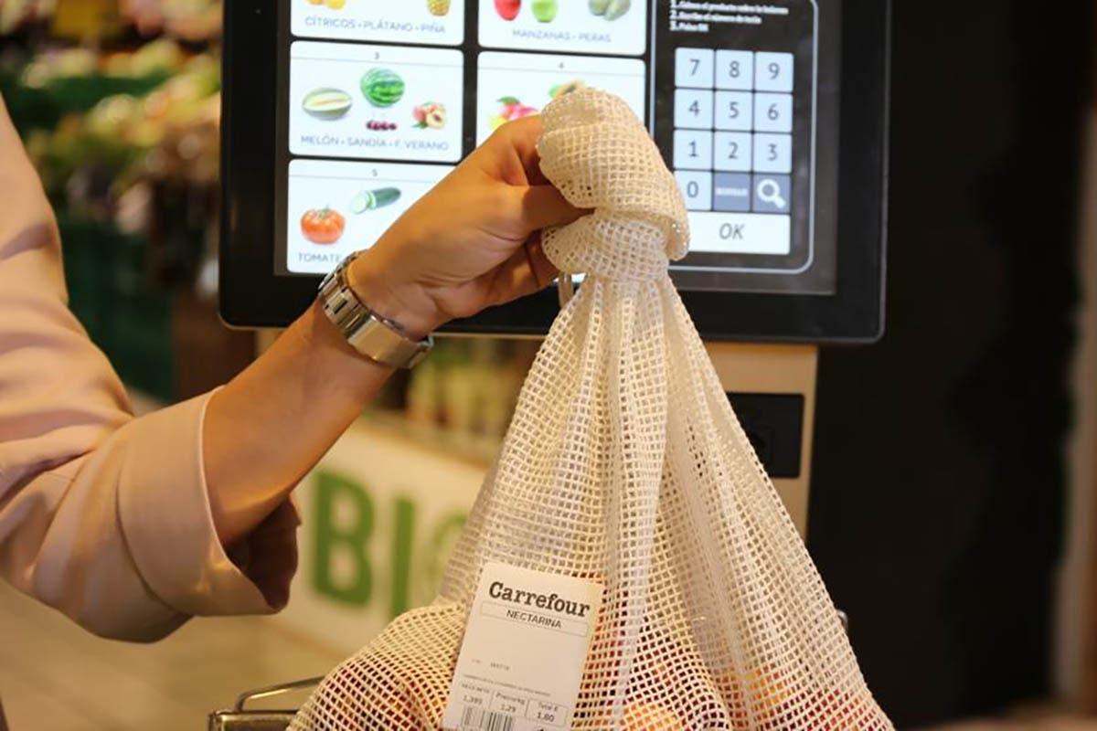lança sacos de algodão