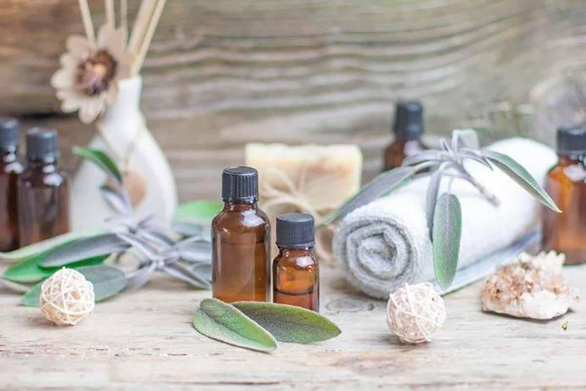 óleo essencial de sálvia