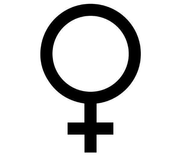 símbolo do feminino 2