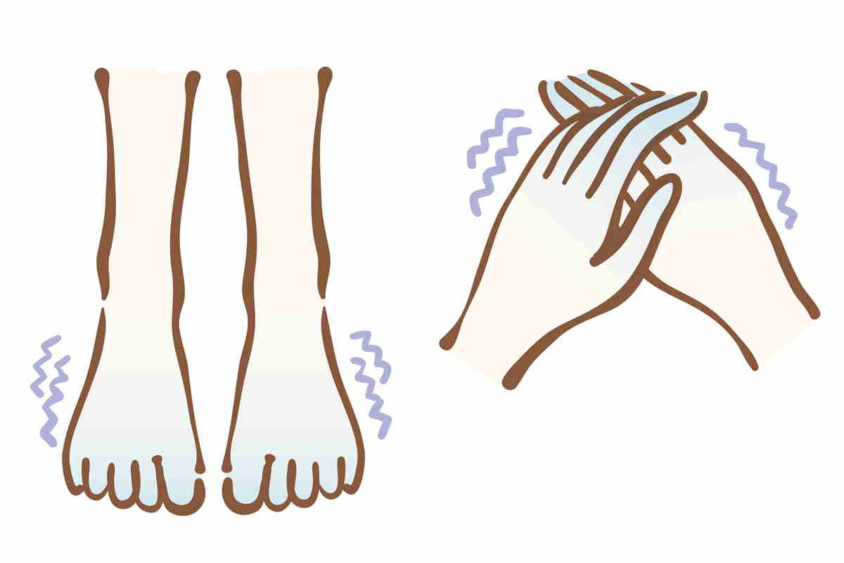 mãos pés frios