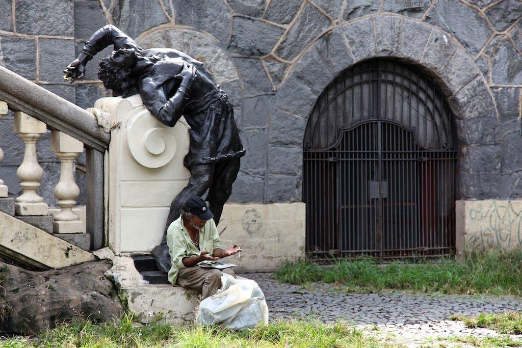 Estátua Condor, Vale Anhangabaú, em São Paulo