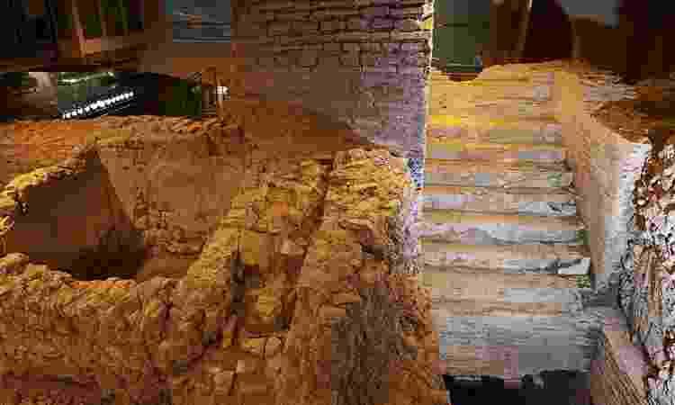 Subsolo da Fontana di Trevi