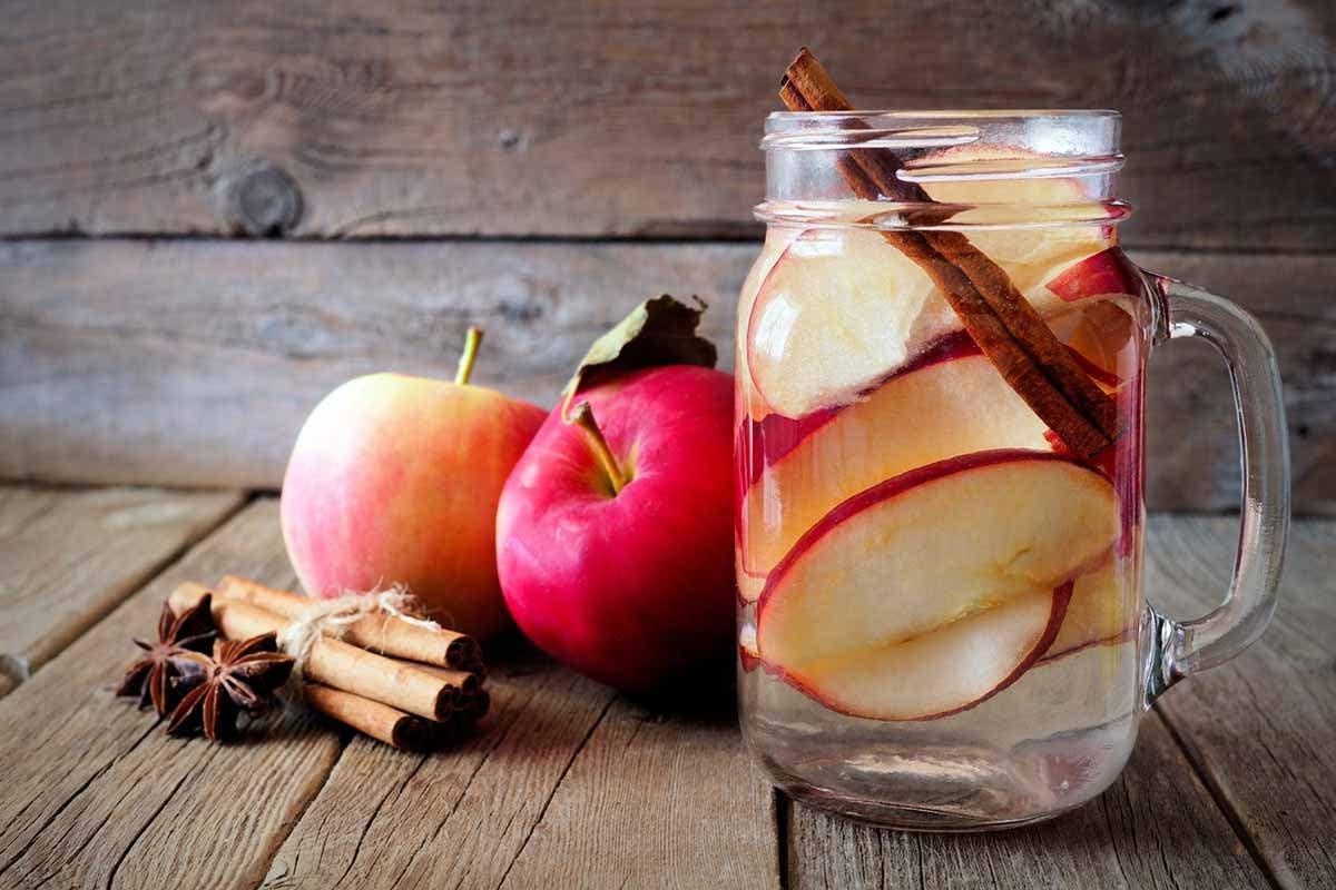 acqua aromatizzata mela cannella