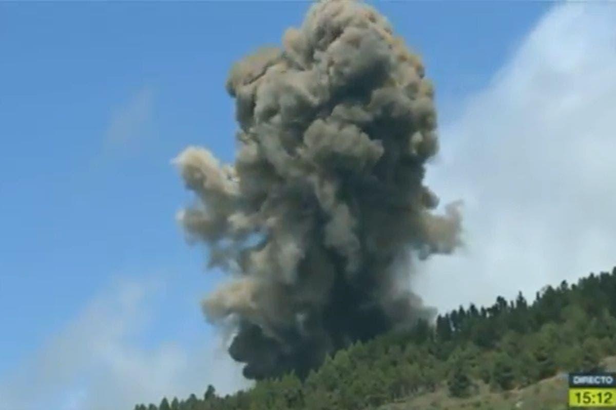 eruzione vulcanica canarie