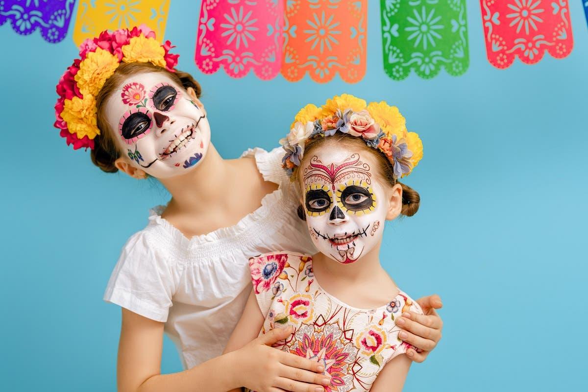 Maschere teschio messicano