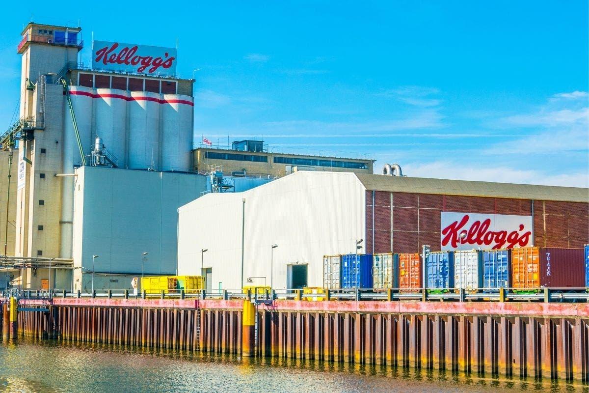 fábricas da Kellogg