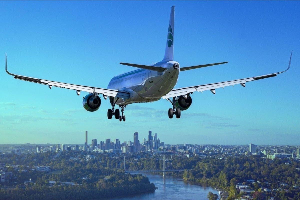 inquinamento combustibile per aerei