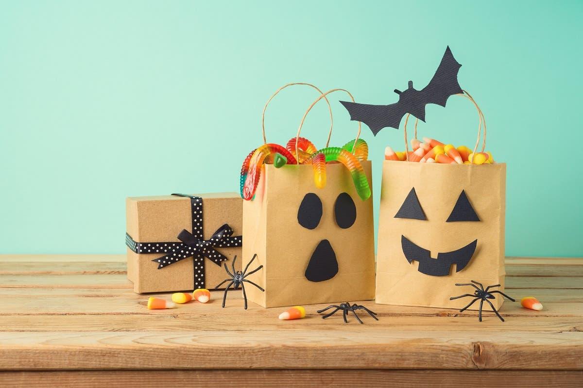 Porta caramelle di Halloween fai da te